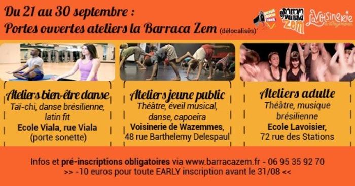 Portes ouvertes ateliers la Barraca Zem