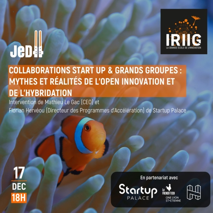 COLLABORATIONS START UP & GRANDS GROUPES : MYTHES ET RÉALITÉS DE L'OPEN INNOVATION ET DE L'HYBRIDATION