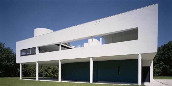Journées du patrimoine 2019 - Visite de la villa Savoye, édifice majeur dans l'oeuvre de Le Corbusier