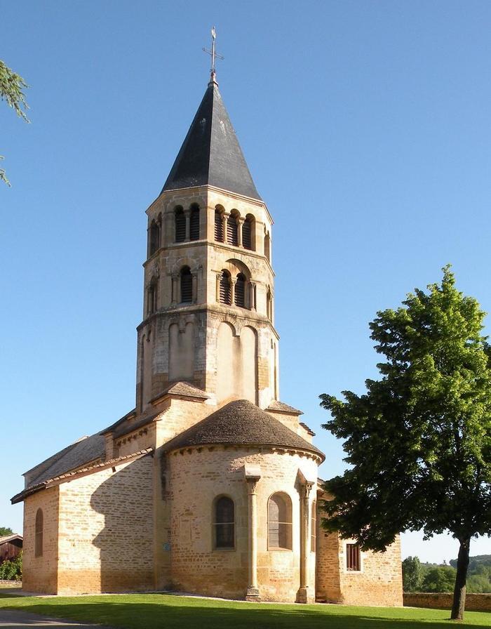Journées du patrimoine 2019 - Visite de l'Église romane de Chânes