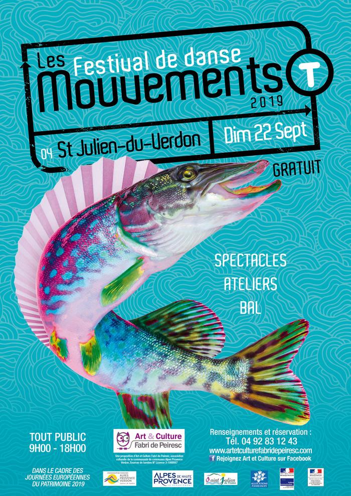 Journées du patrimoine 2019 - Festival de danse les MOUVEMENTS-T