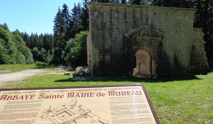 Journées du patrimoine 2020 - Découverte de l'abbaye Sainte-Marie de Mureau