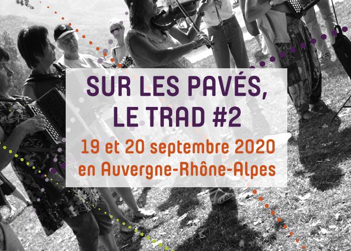 Journées du patrimoine 2020 - Sur les pavés, le trad #2 - Concert à Saint Marcellin avec Cire tes souliers et ses ateliers d'accordéons