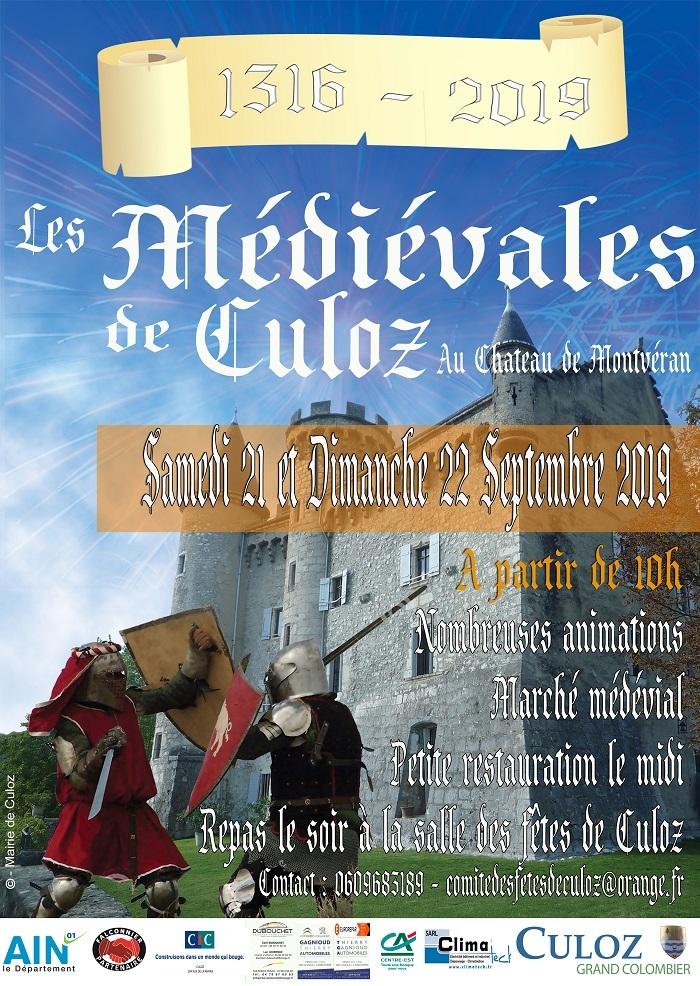 Journées du patrimoine 2019 - Fête et marché médiéval