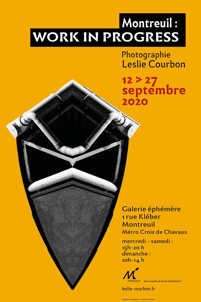 Journées du patrimoine 2020 - Exposition de photographies Montreuil : Work in progress