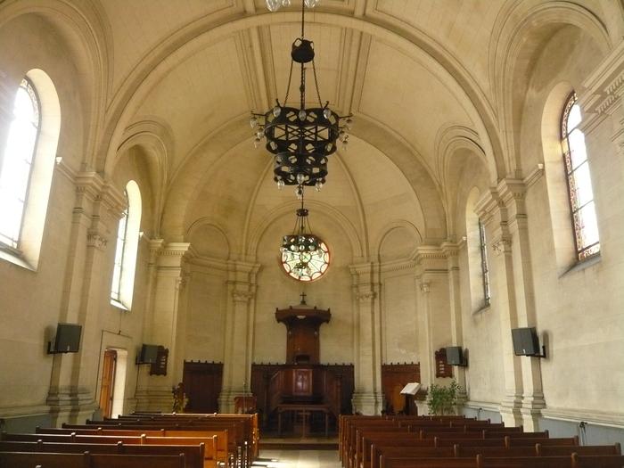 Journées du patrimoine 2020 - Visite commentée du temple protestant d'Arras. Présentation et audition de l'orgue.