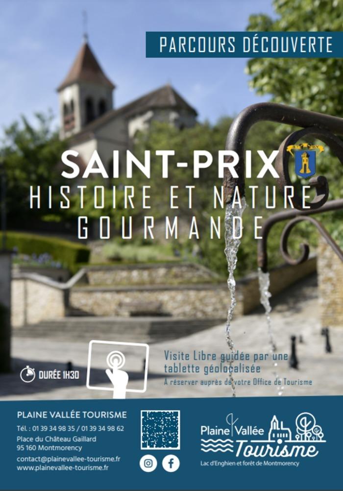 Plaine Vallée Tourisme vous propose de découvrir Saint-Prix en toute liberté !
