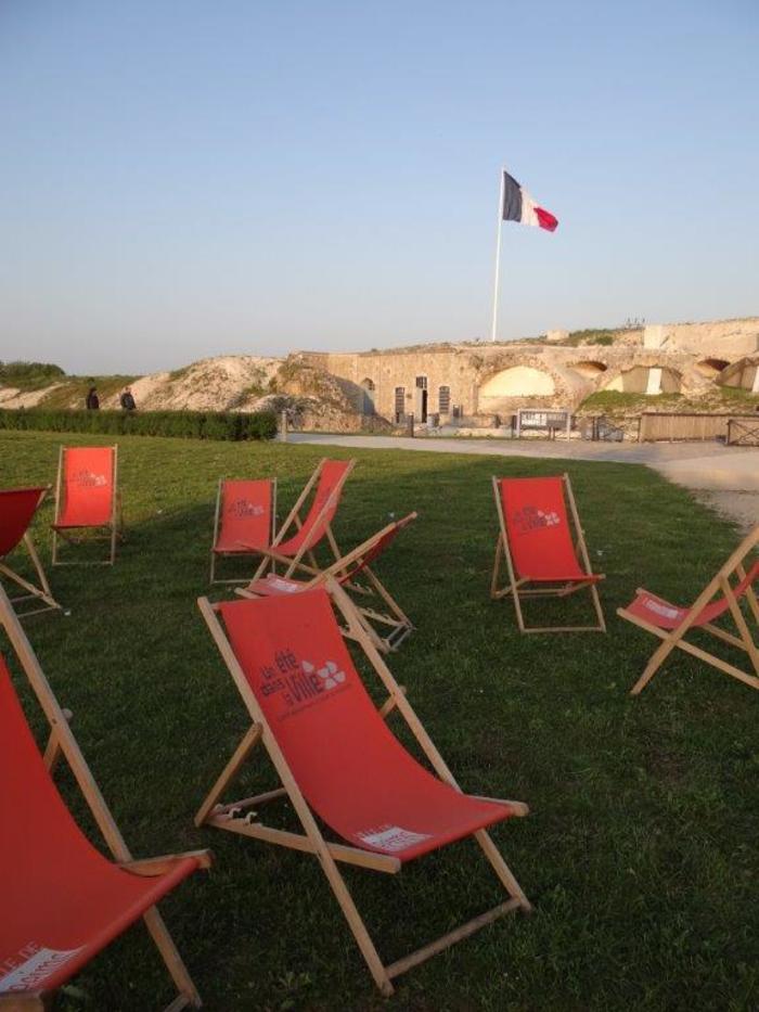 Journées du patrimoine 2019 - Lecture au musée du fort de la Pompelle
