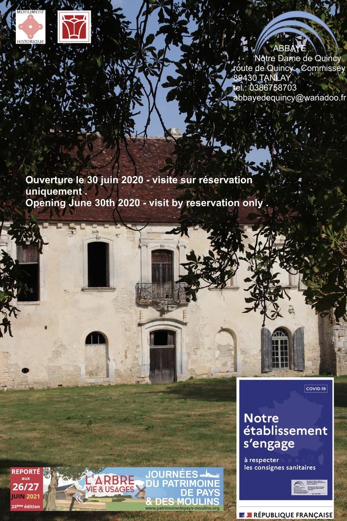 Journées du patrimoine 2020 - Visites en famille de l'abbaye Notre-Dame