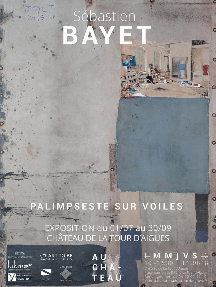 Journées du patrimoine 2020 - Exposition: Sébastien Bayet - Palimpseste sur Voiles