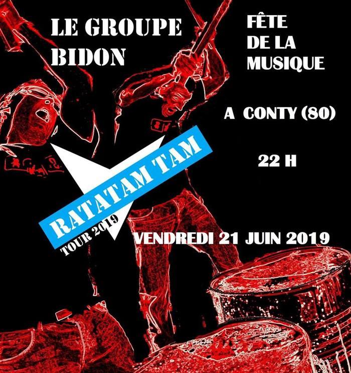 Fête de la musique 2019 - Le Groupe Bidon
