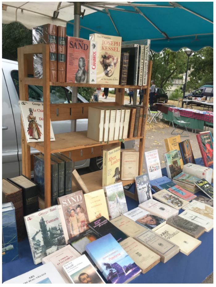 Journées du patrimoine 2020 - Marché aux livres par l'Association des Bouquinistes de Saintonge et d'Aunis (ABSA)