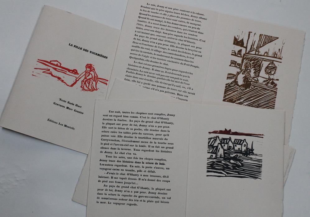 Artiste graveur, typographe, éditeur, Marc Granier viendra nous parler de son métier, accompagné de deux poètes, Cécile Boisson et Rabia Marhouch.