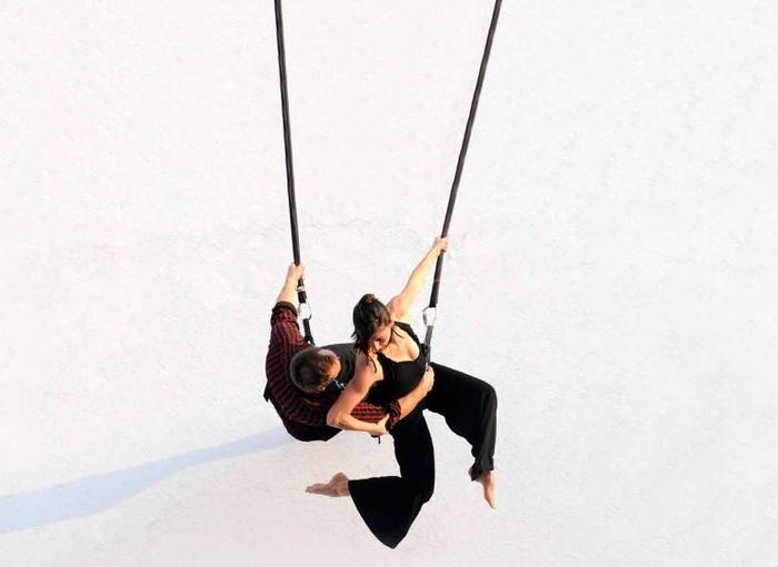 Par la compagnie 9.81 pionnière dans la création en danse verticale