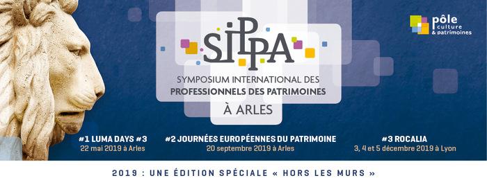 Journées du patrimoine 2019 - SIPPA Hors les Murs #2 (Symposium des Professionnels des Patrimoines à Arles)