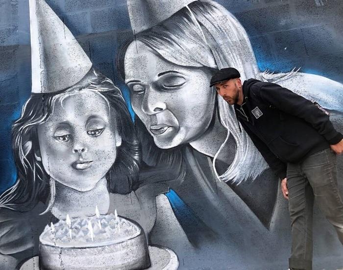 Journées du patrimoine 2019 - Fresque murale : colorez les murs des Petits Châtelets !