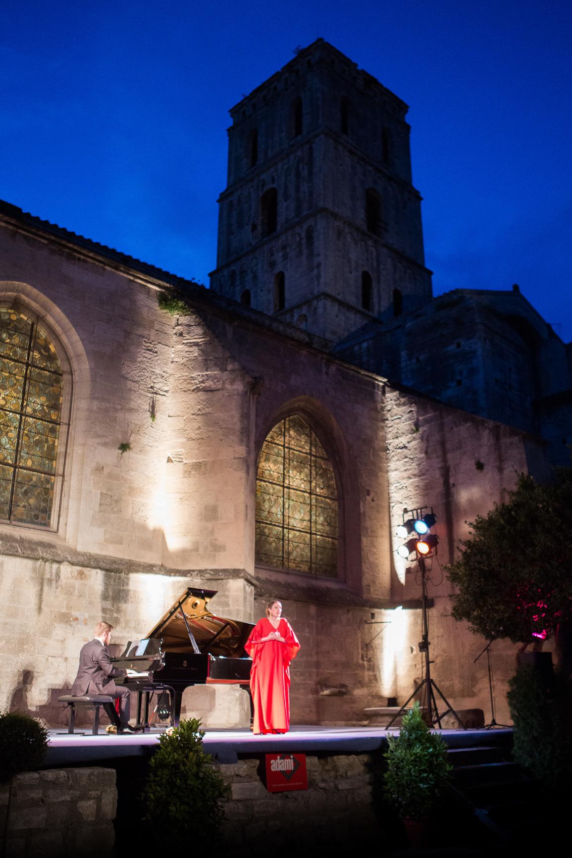 Programmation de concerts dans le cadre du concours Opéra en Arles, organisé par Festiv'Arles.