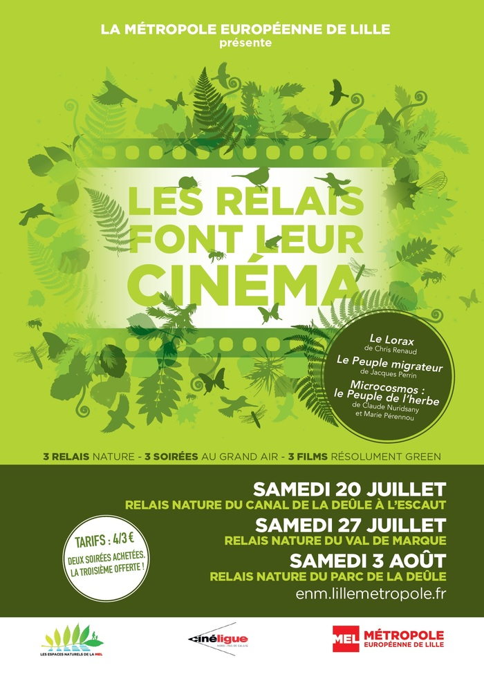 """Les Relais font leur cinéma avec """"Microcosmos: le Peuple de l'herbe"""" à Santes"""