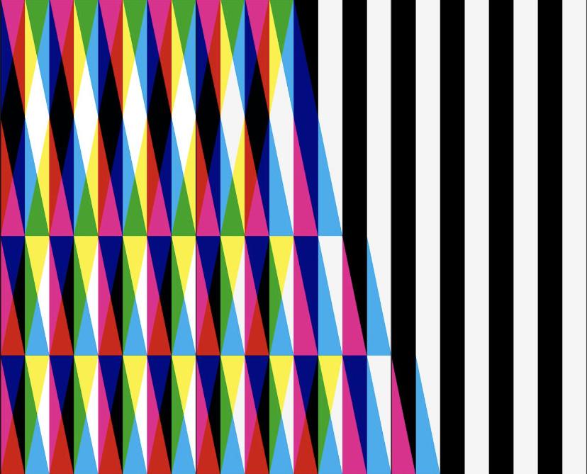 Melvin Galapon est le 10eme artiste à proposer une œuvre pour la vitrine de l'espace d'art  dans le cadre du programme Entractes.