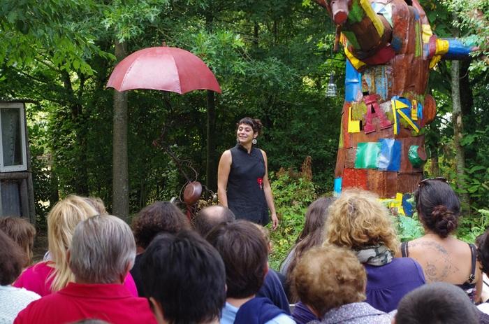 Journées du patrimoine 2019 - « L'histoire décalée du dragon de L'Absie », de Pascale Rambeau, artiste associée au Nombril du Monde