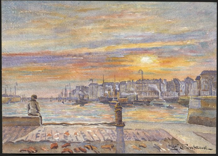 Journées du patrimoine 2020 - Exposition Emile Constant (1877-1940), le Havre une autre ville