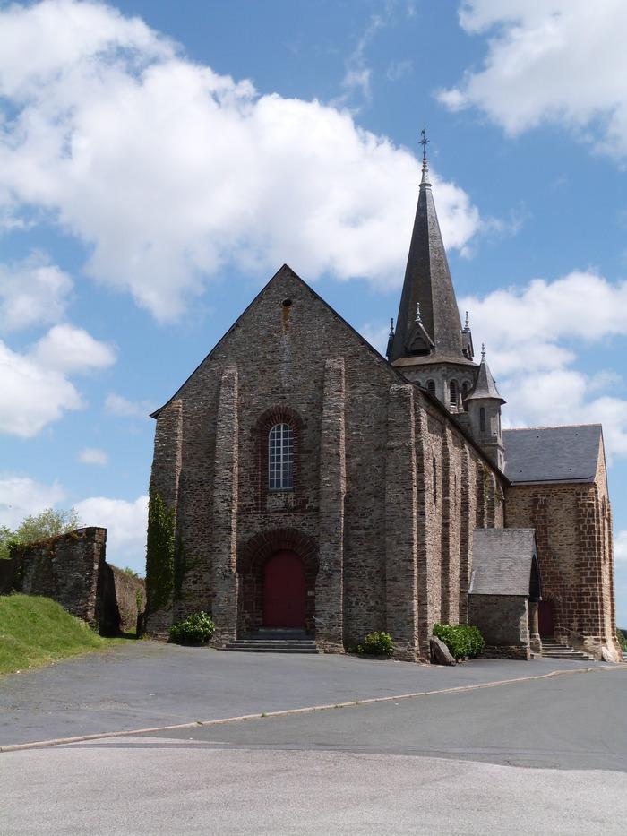 Journées du patrimoine 2020 - Église Romane Saint Jean de Béré