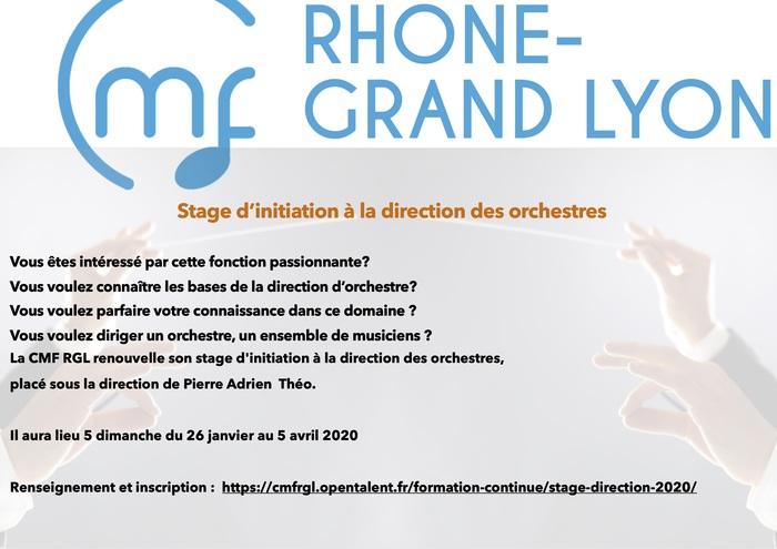 Stage d'initiation à la direction des Orchestres