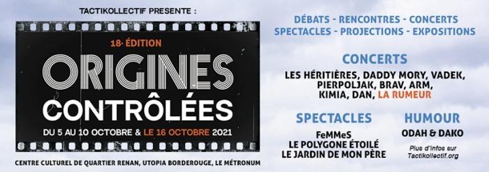 Festival Origines contrôlées : édition 2021