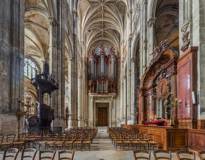 Audition d'orgue
