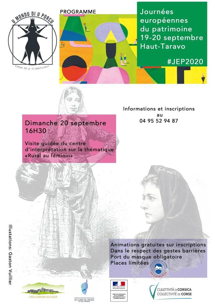Journées du patrimoine 2020 - Annulé | Reporté- Visite guidée sur la thématique :