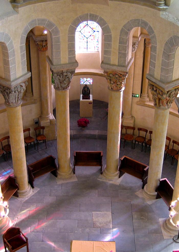 Journées du patrimoine 2020 - visite de l'église de Saint-Nectaire
