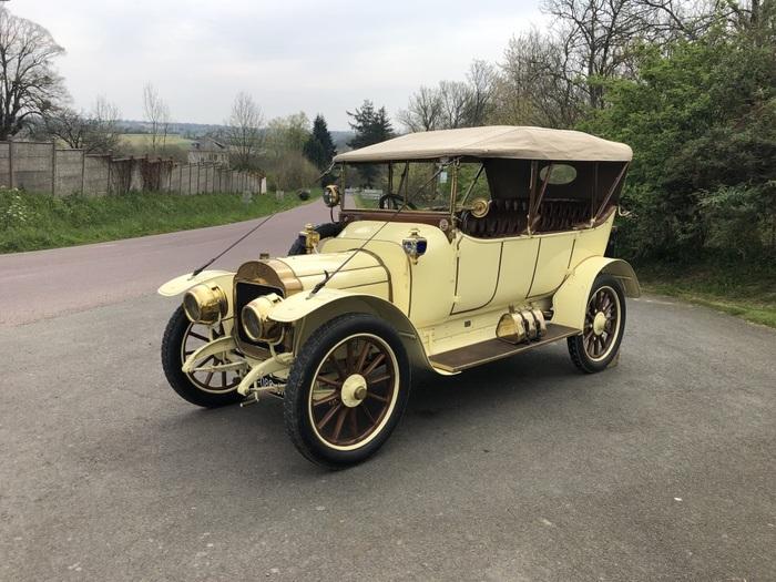 Journées du patrimoine 2019 - Expositions de voitures anciennes de 1898 à 1924