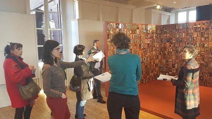 Rencontre au centre d'art et présentation des actions de l'année