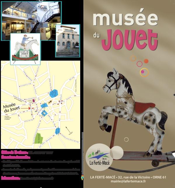 Nuit des musées 2019 -Visite libre des nombreux jouets du musée de La Ferté-Macé