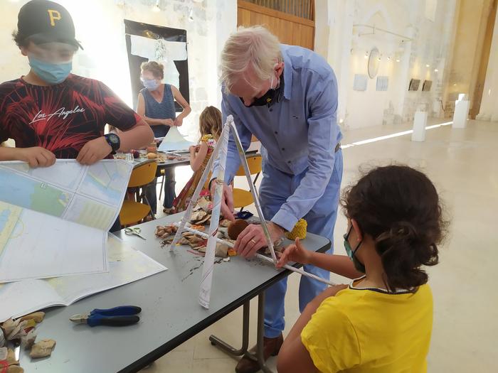 Journées du patrimoine 2020 - Atelier famille autour du vitrail