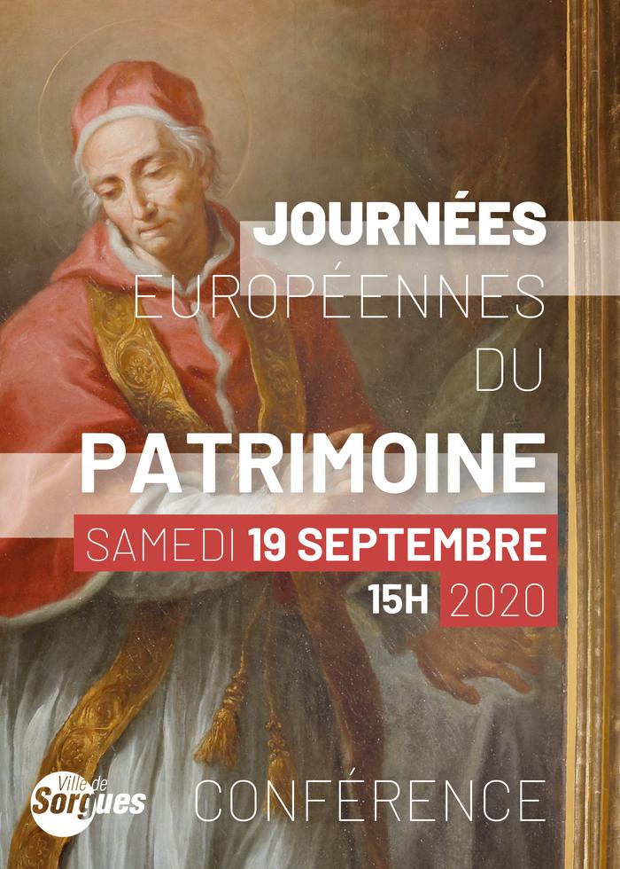 Journées du patrimoine 2020 - Conférence histoire de l'art