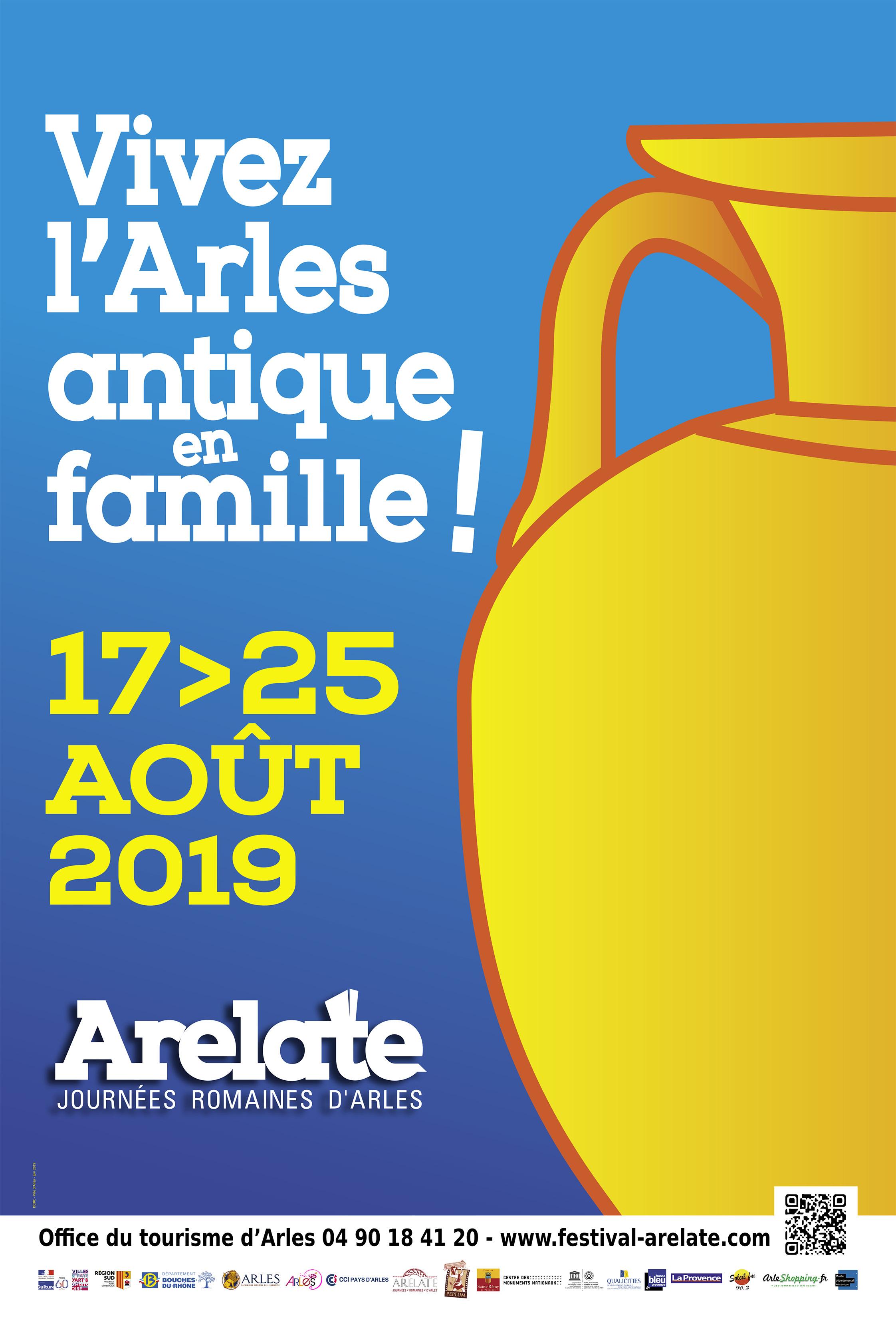 Venez vivre l'Arles antique en famille ! Reconstitutions historiques, spectacles, animations...