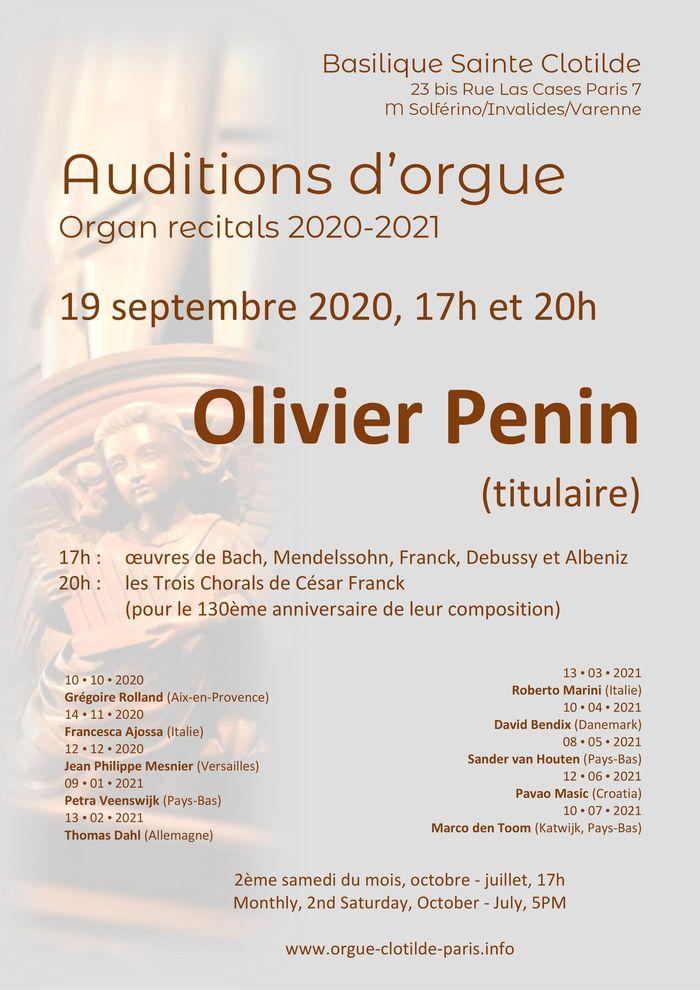 Journées du patrimoine 2020 - Concert d'orgue