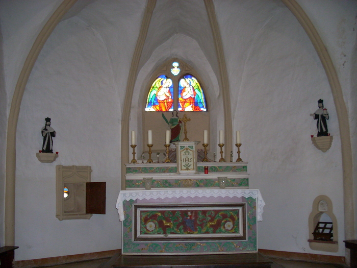 Journées du patrimoine 2019 - Chapelle Sainte-Barbe Boler