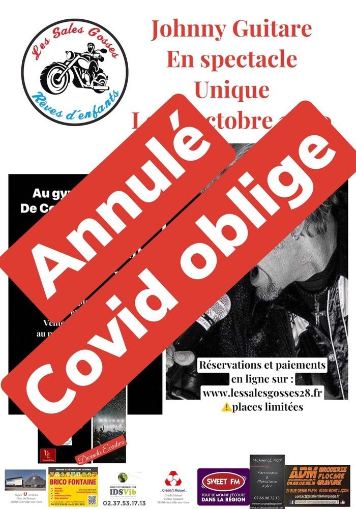 Johnny Guitare en spectacle unique à Courville le 24 octobre 2020