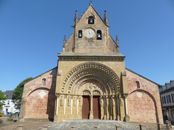 Journées du patrimoine 2020 - Visite guidée de l'église Sainte-Foy de Morlaàs, joyau de l'art roman