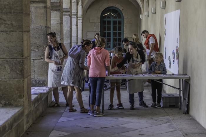 Journées du patrimoine 2019 - Atelier d'arts plastiques - A la ribambelle