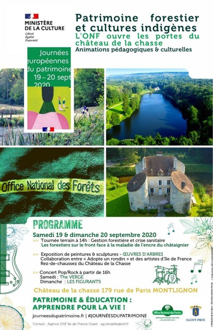 Journées du patrimoine 2020 - Découvrir le patrimoine forestier de Montmorency