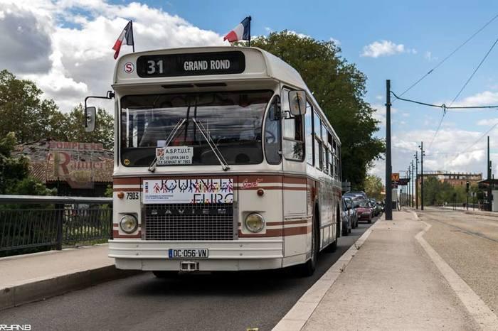 Journées du patrimoine 2019 - Remise en service d'autobus musée