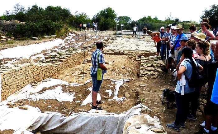 Journées du patrimoine 2020 - Visite guidée du chantier de fouille archéologique