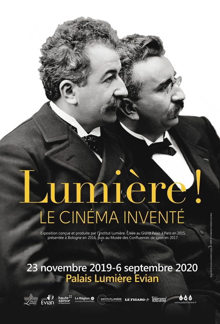 Journées du patrimoine 2020 - Exposition « Lumière ! Le cinéma inventé »