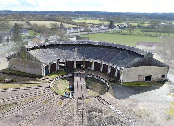 Journées du patrimoine 2019 - Visite guidee rotonde ferroviaire