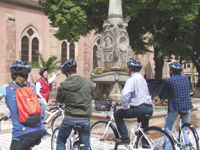 Journées du patrimoine 2019 - Découverte à vélo de l'histoire et du patrimoine d'Ensisheim