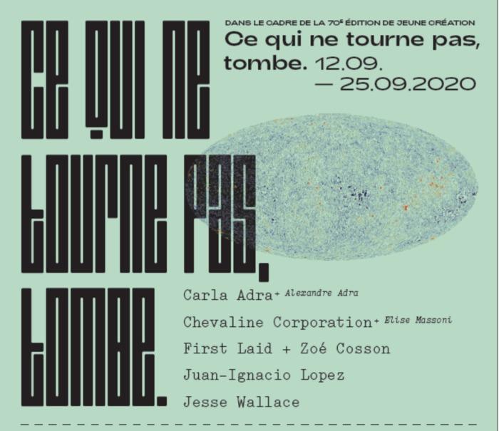 Journées du patrimoine 2020 - Exposition Jeune Création
