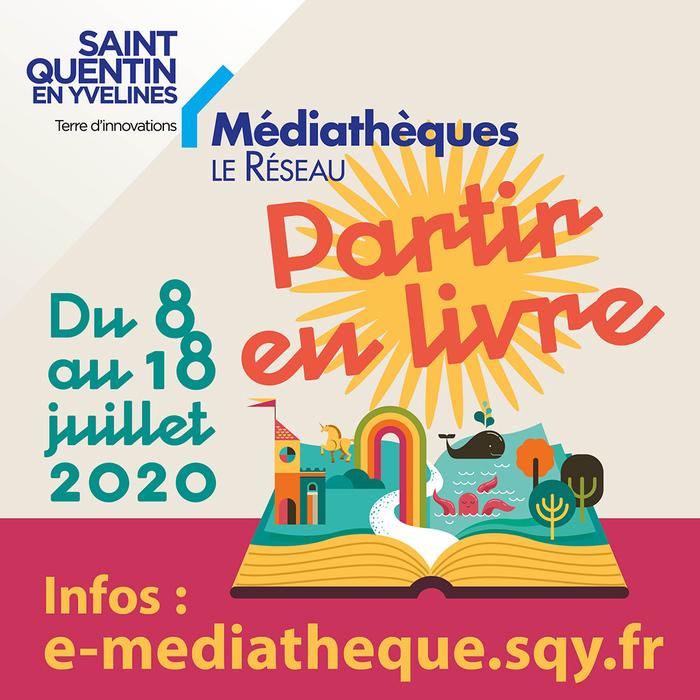 Partir en livre, cet été à Saint-Quentin-en-Yvelines…